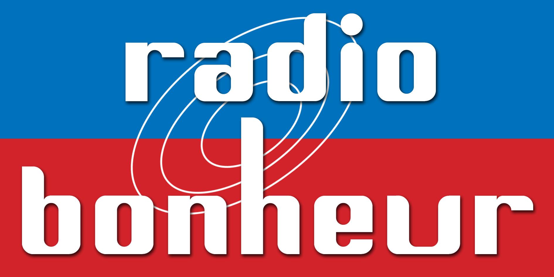 Logo Radio Bonheur, une radio commercialisée par Régie Radio Régions