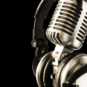 micro de radio avec casque