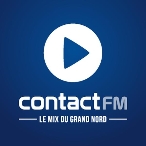 Logo Contact FM, une station commercialisée par Régie Radio Régions
