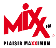 Logo Mixx FM, une radio commercialisée par Régie Radio Régions