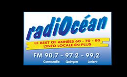 Logo Radiocean, une radio commercialisée par Régie Radio Régions