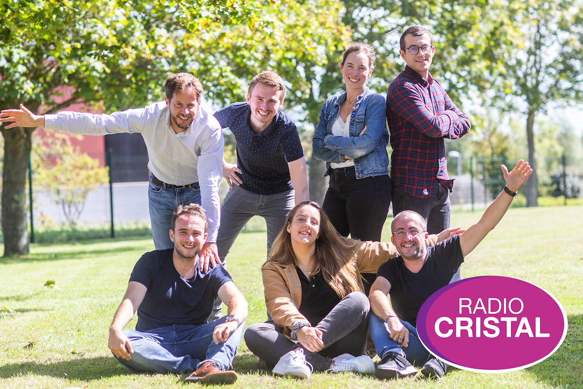 L'équipe de rentrée pour la saison 2020-2021 sur Radio Cristal, une radio commercialisée par Régie Radio Régions